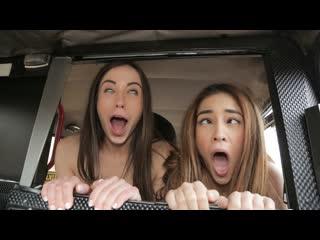[FakeTaxi] Ginebra Bellucci, Anastasia Brokelyn - Cheeky Spanish Lesbians fuck Cabbie NewPorn2020