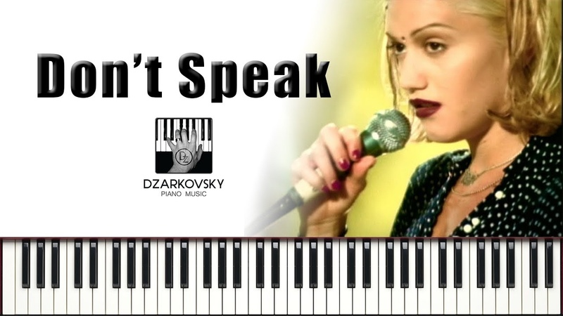 No Doubt Don't Speak piano cover