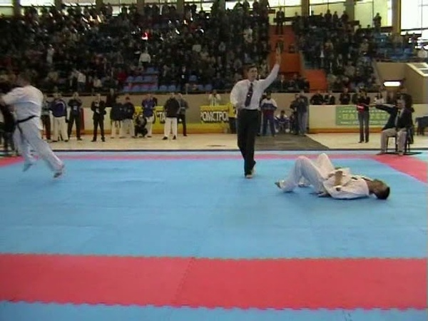 Crushing knockout from Alexander Ibragimov at the 16th IFK Russian Championship 2006