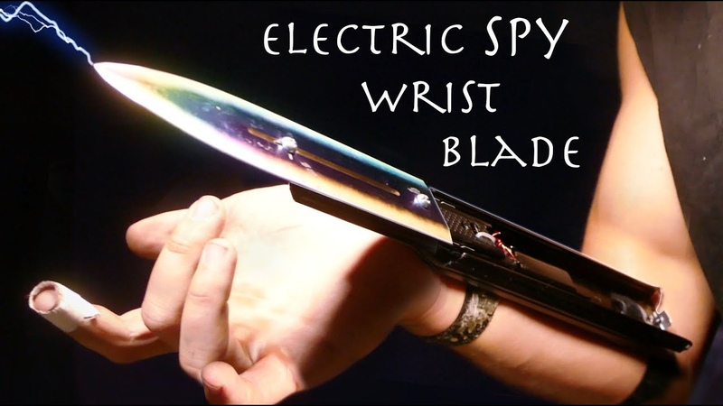 Electric Rainbow WRIST BLADES!! - Easy Assassins Creed SPY Build! (Building Your Ideas 2)