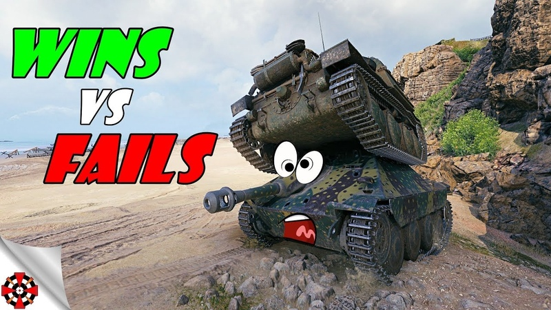 World of Tanks Funny Moments WINS vs FAILS WoT October 2018