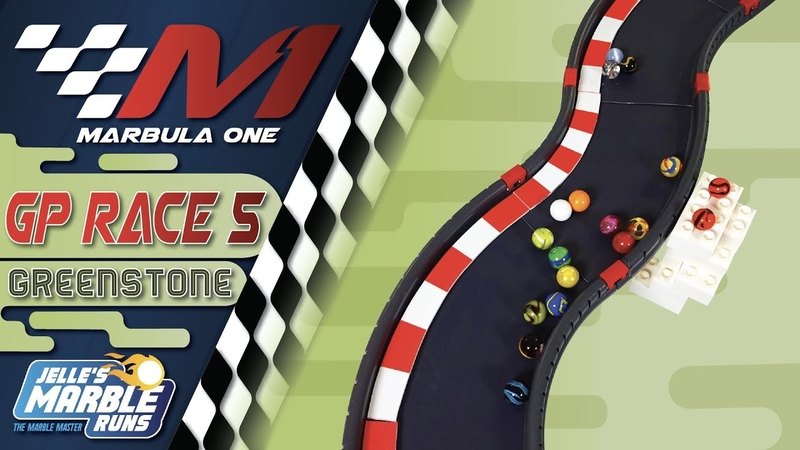 Marbula One 2020 Greenstone GP S1R5 Marble Race by Jelle's Marble Runs