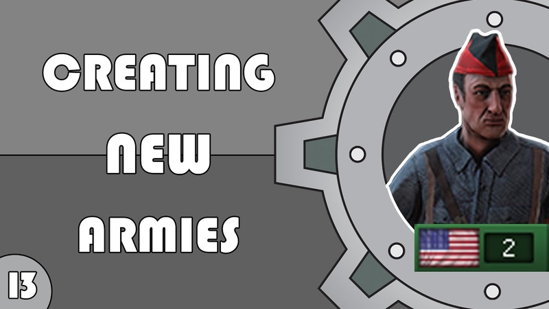 HOI4 Modding Creating new armies OOB's 1 9