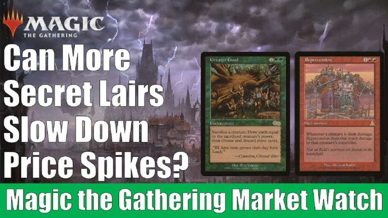MTG Market Watch Will More Secret Lairs Slow Down Price Spikes