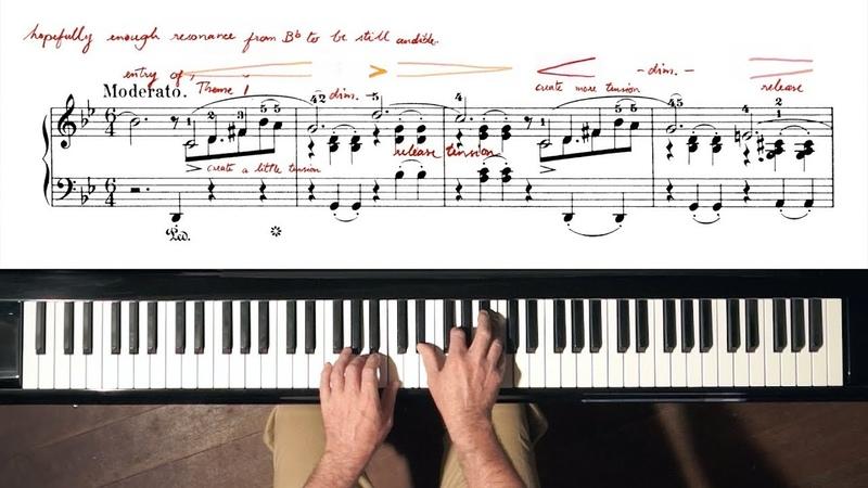 Chopin Ballade No.1 with SCORE - P. Barton, FEURICH piano