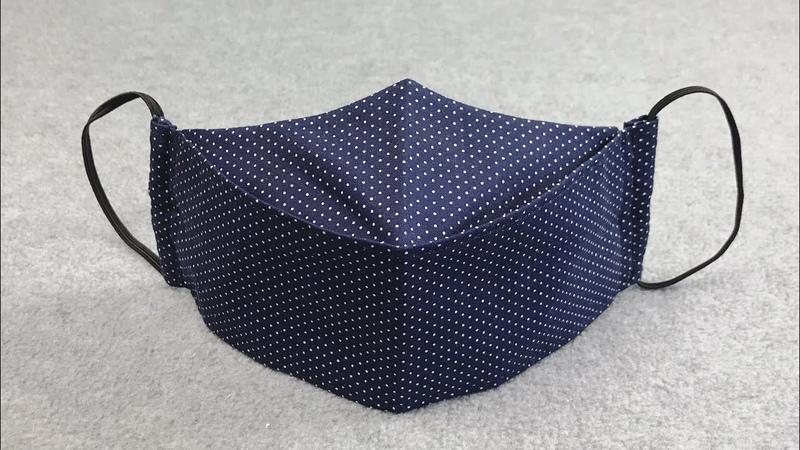 DIY Mask making 立体マスクの型紙の書き方 作り方 布口罩製作教程 마스크를 만드는
