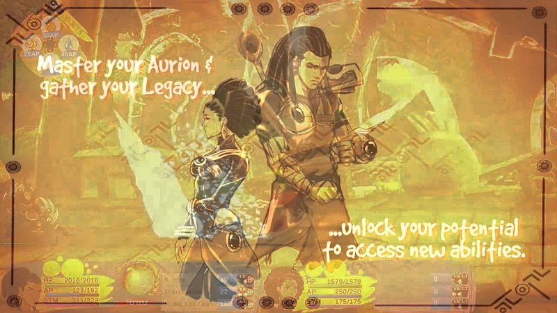 Aurion Legacy of the Kori Odan Gameplay Trailer