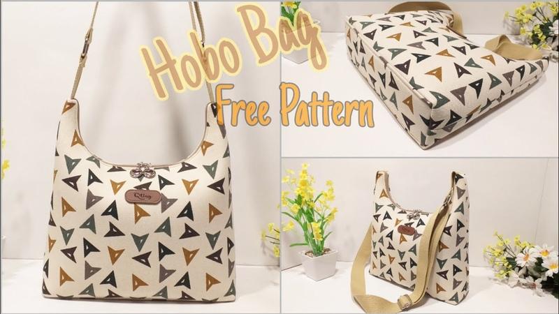 Cara Membuat Tas Hobo Bag