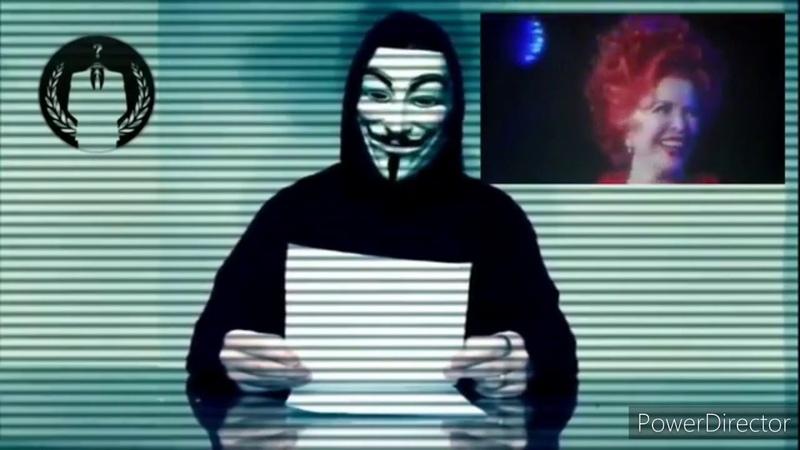 """Anonymous DAS IMPERIUM SCHLÄGT ZURÜCK JETZT WIRD """"VON OBEN OFFEN GEPÖBELT"""