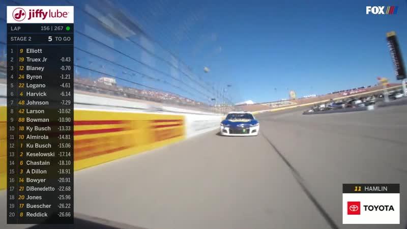NASCAR Cup Series 2020 Этап 2 Лас Вегас