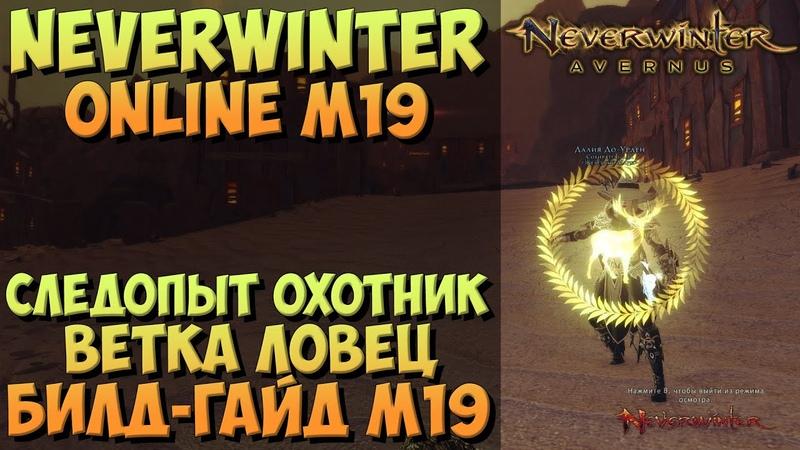 Следопыт Охотник Ветка Ловец Билд Гайд М19 Neverwinter Online