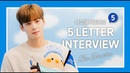 [360°VR SEOUL] All about CHA EUN-WOO with 5 Letter Interview | 차은우 다섯 글자 인터뷰