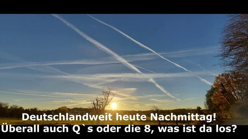 Heute Botschaften am Himmel Deutschlandweit