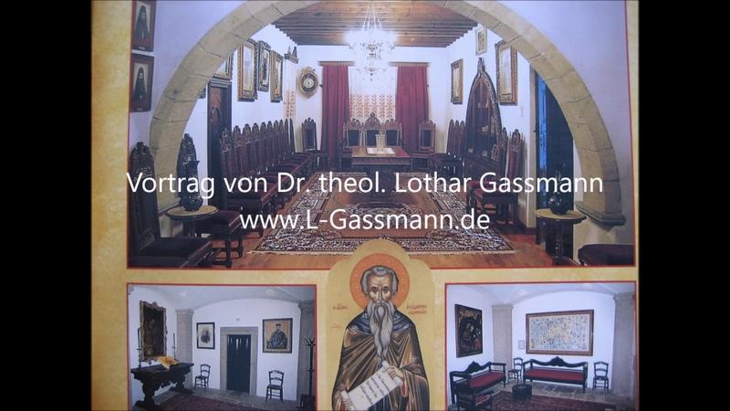 WAS LEHREN KATHOLIKEN, LUTHERANER UND TÄUFER Ein Vergleich. Von Dr. Lothar Gassmann