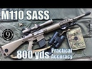 🏅M110 SASS to 800yds: Practical Accuracy (Leupold Mk4, US Sniper Rifle)