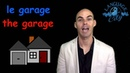 French vocabulary: the house