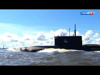 Невероятный по красоте и мощи парад в честь Дня ВМФ прошел в Санкт-Петербурге