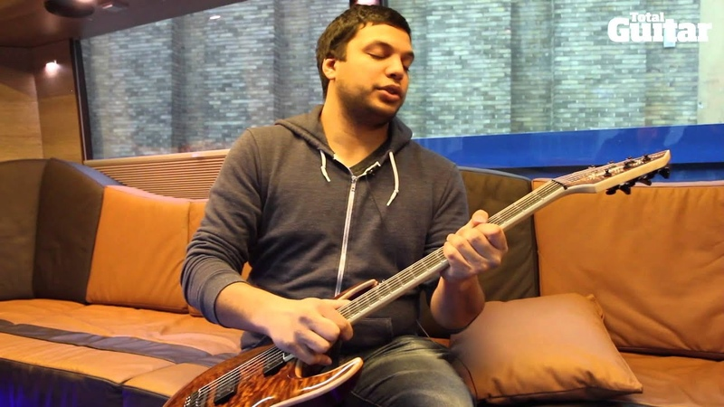 Me And My Guitar interview with Periphery's Misha Mansoor Jackson Juggernaut HT6