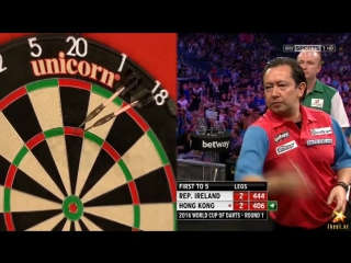 Ireland vs Hong Kong (PDC World Cup of Darts 2016 / First Round)