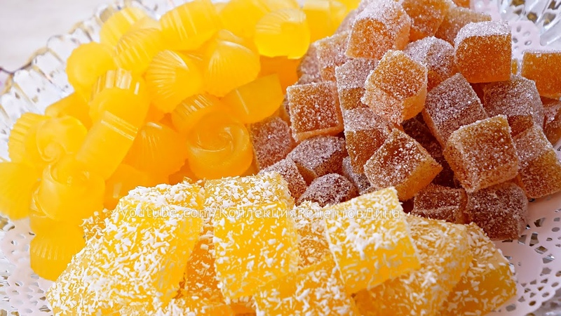 🍊Сразу три рецепта домашнего мармелада 🍋 Апельсиновый мармелад с желатином агар агаром и пектином