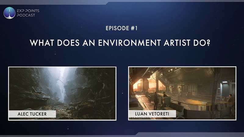 EXP Podcast Episode 001 | What Does an Environment Artist Do