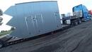 Широкий Дальнобой встреча с Davir Trucking Oversize to NY with pilot car