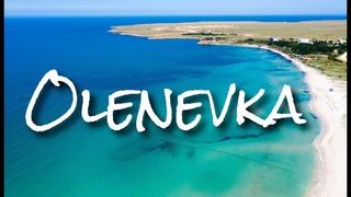 Оленевка. Мыс Тарханкут. Крым 2019. Drone footage || DJI MAVIC 2
