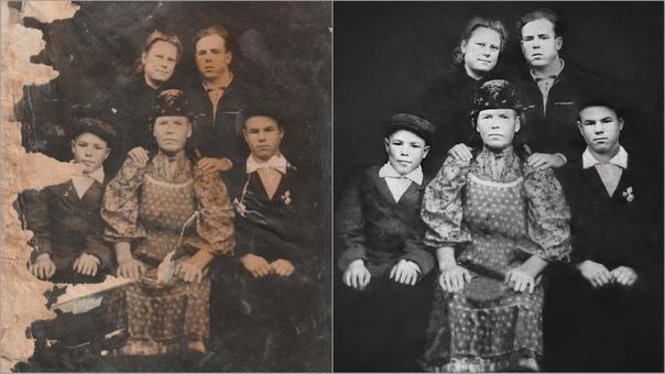 Реставрация старых фотографий в люберцах