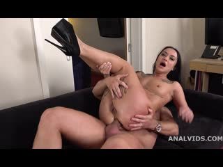 Mr. Andersons Anal Casting with Alisa Kovi Balls Deep Anal, Gapes and Cum in Mouth - Rough Sex Russian Deepthroat Cum Porn Порно