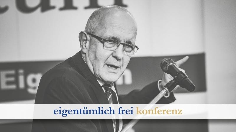 David Dürr Abschied von der Verfassung (ef-Konferenz 2020, Teil 13)