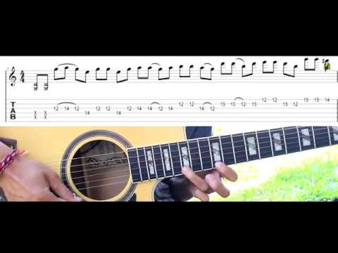 Guns N Roses Sweet Child O Mine Acoustic Guitar Solo Lesson