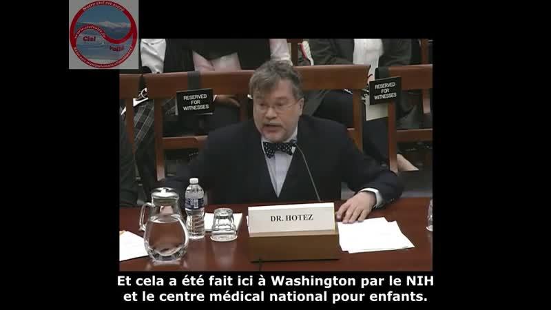 Dr Hotez Problème unique de s curit dun vaccin contre le coronavirus