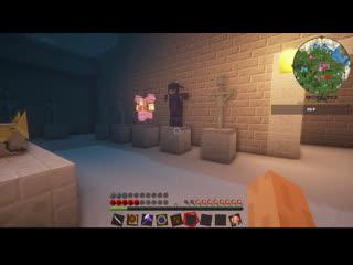 Стрим без микрофона, пока все спят! :з Minecraft . Часть 14