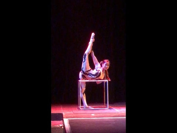 Clee and the Cube Contortion Acro Act