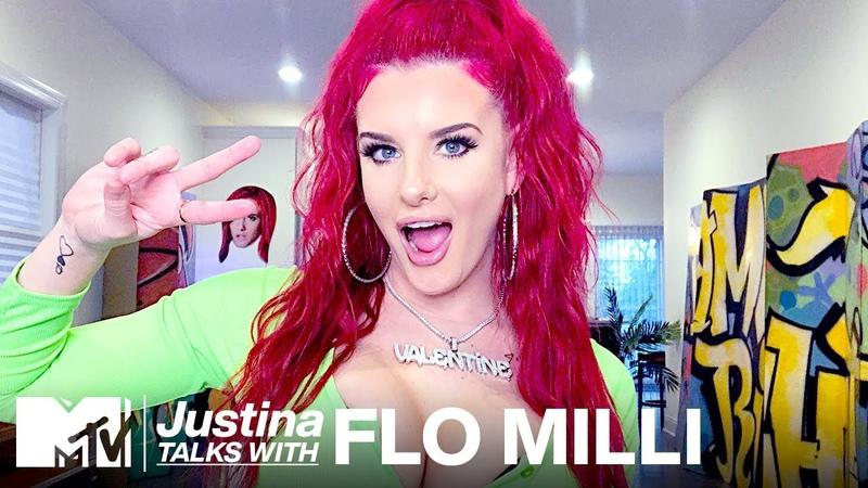 "Flo Milli Spills On Her New Track ""Not Friendly"" TikTok FAME | The Justina Valentine Show | MTV"