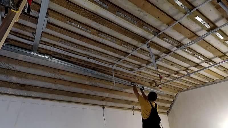 Потолок из гипсокартона на мансарде Как сделать внутренние и наружние углы