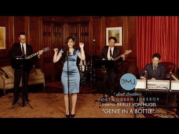 Genie in a Bottle Christina Aguilera '60s Style Cover ft Brielle Von Hugel