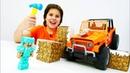 Игры minecraft - Прокачиваем Джип для Стива Майнкрафт Лего! - Видео игры машинки для мальчиков