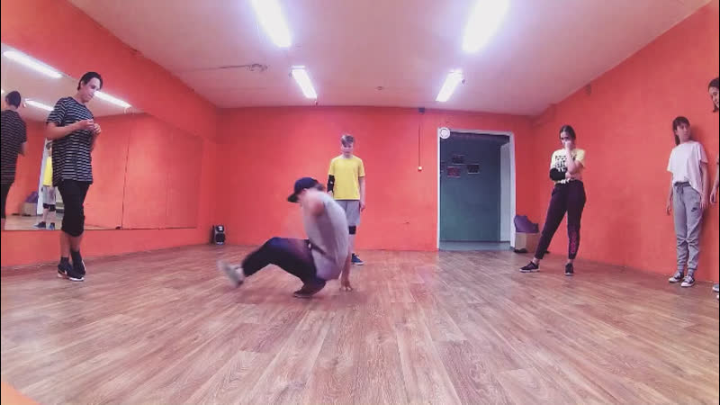 Bgirl Mik Mik   Practice Jam 2018   Танцы Нижний Тагил