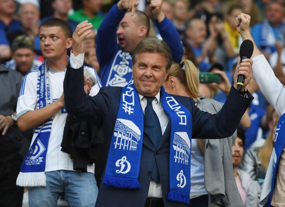 Лев Лещенко, ФК Динамо