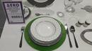 Красивая посуда и сервировка стола. Красивые кухонные принадлежности