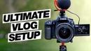 The Ultimate Canon 90D Vlog Setup! (Best Wide Angle Lens, Shotgun Mic, Tripod)
