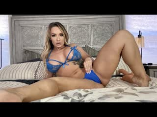 Cali Carter - Slurps On Thick Dick During Her Dick Appointment (Big Tits, Blowjob, Blonde, Sex Toys, Dildo, POV)