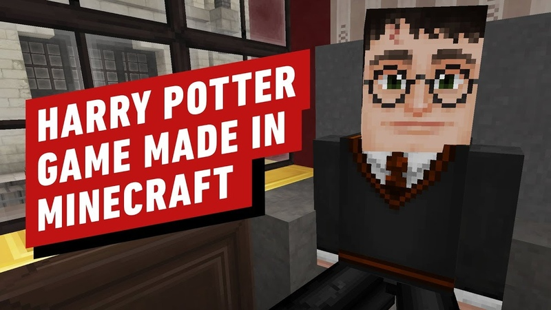 Harry Potter The Open World RPG Made in Minecraft