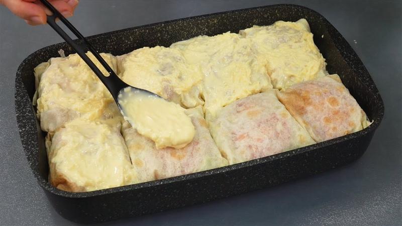 Теперь рыбу в духовке готовлю ТОЛЬКО ТАК Вы тоже влюбитесь в это блюдо Попробуйте РЫБА В ЛАВАШE