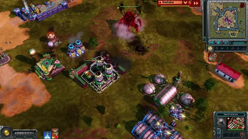 Basset KIROV REPORTING Масштабное сражение трех команд в Command And Conquer Red Alert 3 Remix Mod