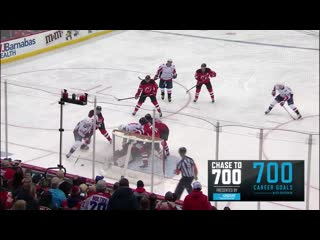 Ovechkin joins 700-goal club - NHL