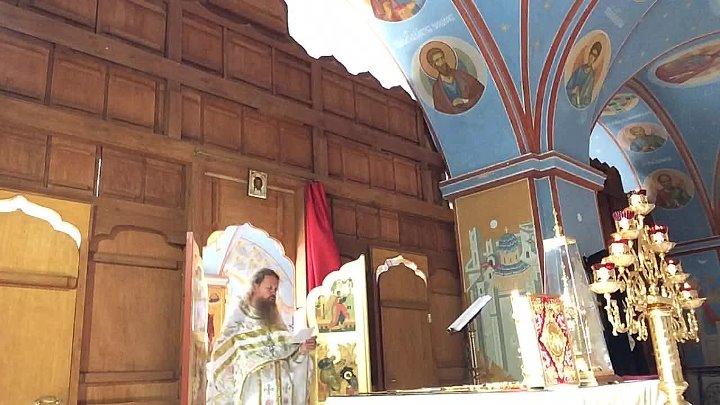 Божественная литургия Пронский монастырь Игумен Лука 31 мая