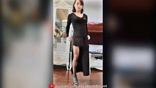 Lovely Amputee Girl on High Heel #6