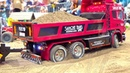 RC TRUCKS STUCKING ! HEAVY HAULAGE RC TRUCK ! DETAILED RC SHOW TRUCKS ! MODELL HOBBY SPIEL